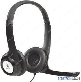 Logitech H390 Stereo headset with rotating mic