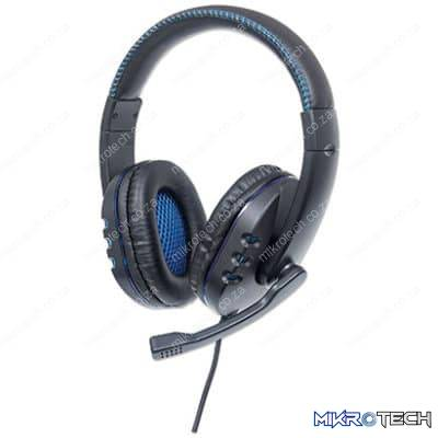 Manhattan USB Gaming Headset with LEDs - For PC