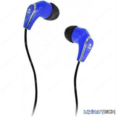 iDance Slam-25 In-Ear Stereo Earphones - Blue